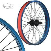 Blue BMX Wheels