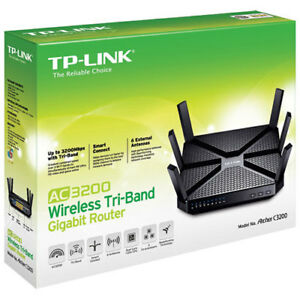 TP-LINK AC3200 Tri-Band Gigabit Wireless Router