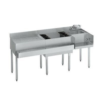 Krowne Metal 18-w66r 1800 Series Underbar Ice Bin Cocktail Blender Station
