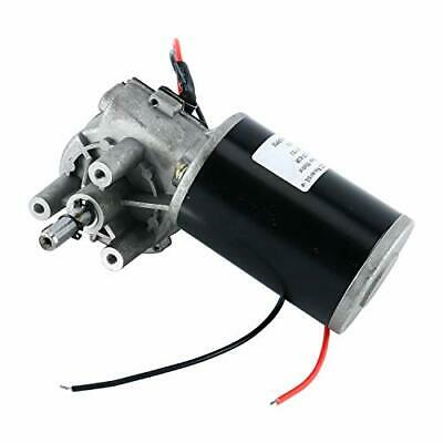 110v 80w 60rpm Reversible Worm Gear Motor High Torque Speed Reducing Electric