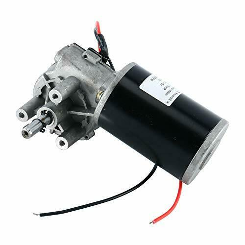 110V 80W 60RPM Reversible Worm Gear Motor High Torque Speed Reducing Electric US