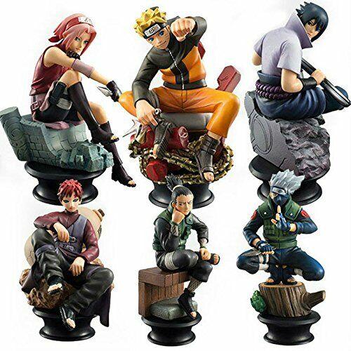 Naruto Doll Sasuke Gaara Shikamaru Kakashi Sakura Naruto Anime Toys Collection (