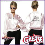 Grease Pink Ladies Jacket Large