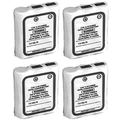 4x Replacement Battery For Motorola Hnn9044ar Fit Sp10 Sp21 Sp50 Spirit M Series