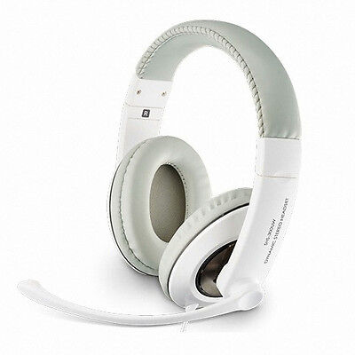 Genuine Samsung Wired USB Headset 40mm Unit Dynamic Stereo Adjustable SHS-300UW