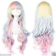 Multi Color Cosplay Wig