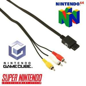 Audio Video Cable TV Adapter for Nintedo Systems: SNES N64 Gamecube