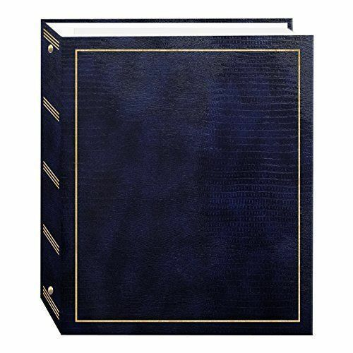 Photo Albums Magnetic Self-Stick 3 Ring Photo Album 100 Pages 50 sheets