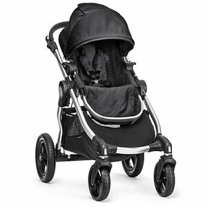 Baby Jogger City Select Stroller - Onyx includes second seat kit