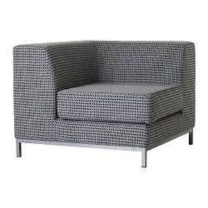 Ikea kramfors corner sofa cover in frojel black white - Copertura divano ikea ...
