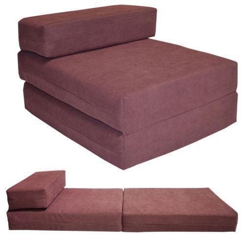 Foam Chair Bed Ebay
