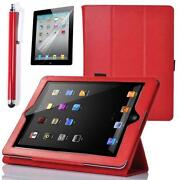 iPad 2 Magnetic Case Red
