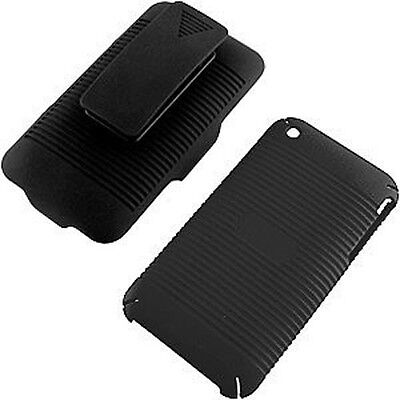 Iphone 3g Holster - Shell Holster Combo Case Cover for Iphone 3g 3gs  with Belt Clip