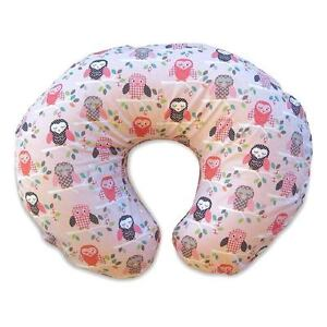 Boppy Bare Naked Pillow with Cotton Slipcover, Owls 1 ea