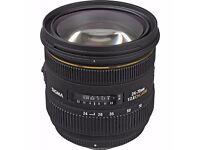 Sigma EX 24-70mm f/2.8 DG HSM IF Lens Nikon Fit New & Unused