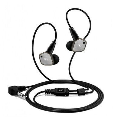SENNHEISER IE 80 Hi-End Sound-isolating in-ear headphones AUTHORIZED-DEALER