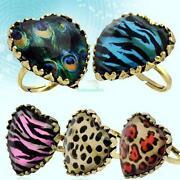 Leopard Print Ring