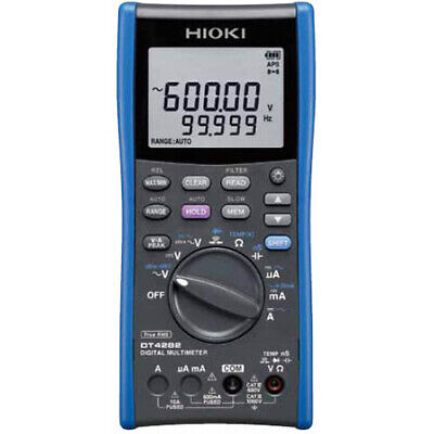 Hioki Dt4282 Trms Dmm 1000v Acdc 60000 Count 10a Direct Input
