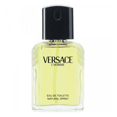 Versace L' Homme 3.4 Oz Eau De Toilette Spray By Versace New For Men