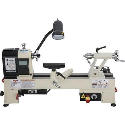 Shop Fox W1836 12 X 15 Variable Speed Benchtop Wood Lathe New For 2016