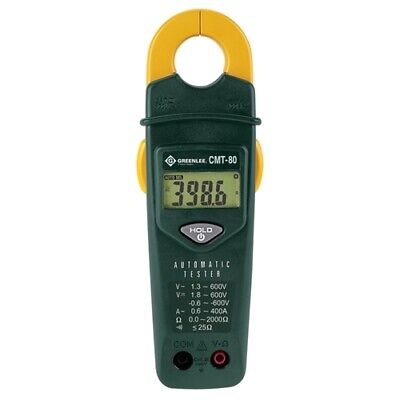 Greenlee Cmt-80 Automatic Electrical Tester-voltage Continuity Amperage Meter