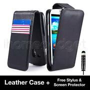 Samsung Galaxy S3 Mini Leather Flip Case
