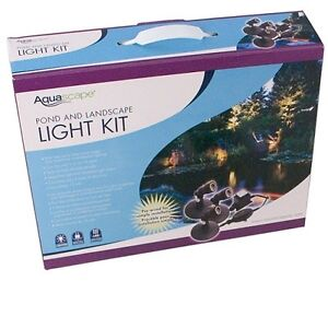Aquascape Pond and Landscape Light Kit for Koi & Gold Fish Ponds