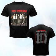 One Direction Tour Shirt