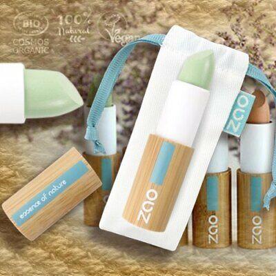 Zao Make-up 499 Concealer Grün Anti-Rötungen Abdeckstift Naturkosmetik bio
