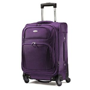 "Samsonite Spinner 21"" Luggage Dark Purple"