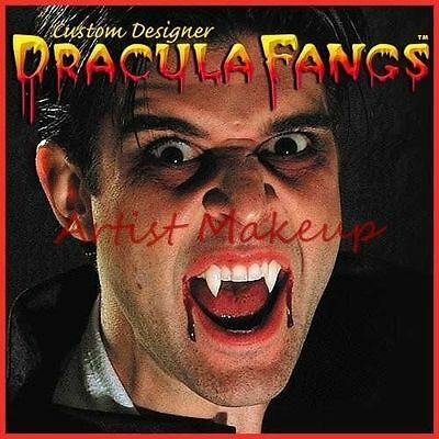 DRACULA FANGS CUSTOM MENS SIZE VAMPIRE LARGE TWILIGHT THERMOPLASTIC - Twilight Fangs