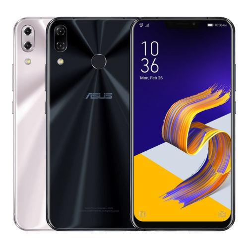 """ASUS ZenFone 5 ZE620KL (Factory Unlocked) 64GB 4GB Ram 6.2"""" Blue, Silver"""