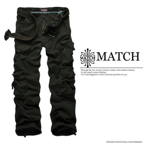 Match Cargo Pants | eBay