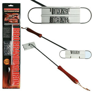 Bbq branding iron changeable letters barbecue names tool for Bbq branding iron with changeable letters