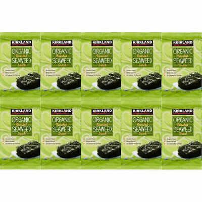 Kirkland Signature Organic Roasted Seaweed 10 x 17G