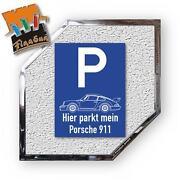Porsche Schild
