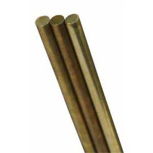 Solid Brass Rod 3/16