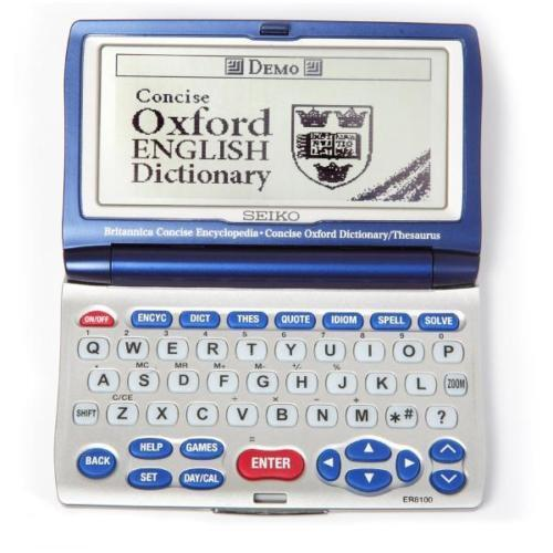 Seiko Electronic Pocket Oxford Dictionary