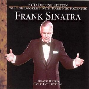 Frank Sinatra- Dejavu Retro Gold Collection-2 gold cds-Nice!