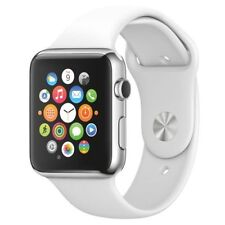 Apple iWatch 38mm Sports watch with White Band