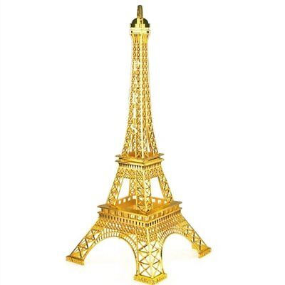 GOLD Eiffel Tower Paris France Metal Stand Model For Table Decor CHOOSE - Eiffel Tower Decorations