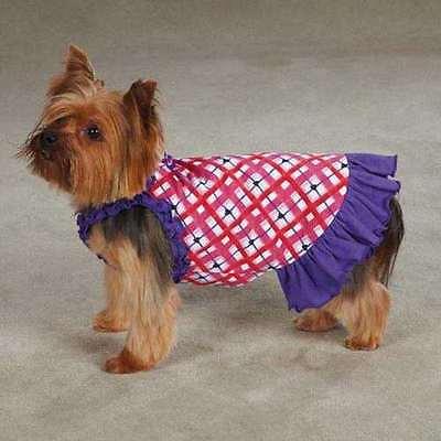 SM Hugs & Kisses Dog Dress Shih tzu Poodle Yorkie Valentine's Day Pet Clothing