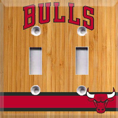 Basketball Chicago Bulls Light Switch Cover Choose Your Cover](Basketball Light)