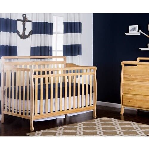 DREAM ON ME LIBERTY 5-IN-1 CONVERTIBLE CRIB, NATURAL *DM