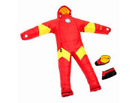 SELK BAG, Musuc, Marvel Iron Man, Adult Sleeping Bag Onesie, thermal suit - Size XL