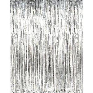 Metallic tinsel curtain shimmer curtain back drop engagement 1x2metres Melbourne CBD Melbourne City Preview