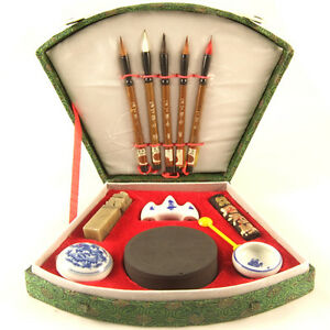Calligraphy Writing Set Chinese Japanese Sumi Ink Uk Ebay