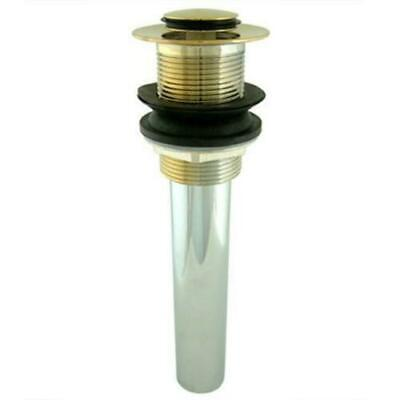 Kingston Brass EV8002 Fauceture Pop-Up Bathroom Sink Drain Polished Brass