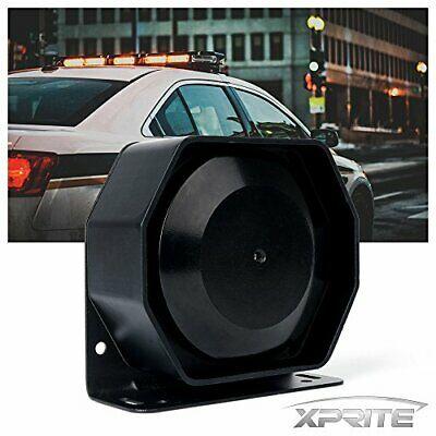 Compact 200 Watt High Performance Extra Slim Siren Speaker Capable With Any 10