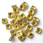 Gold Rhinestones